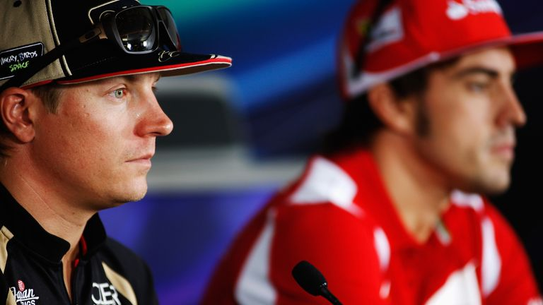 Kimi Raikkonen: Will race alongside his generational rival for the first time