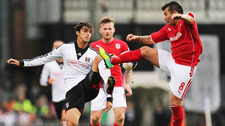 Bryan Ruiz: Ready to battle for his boss