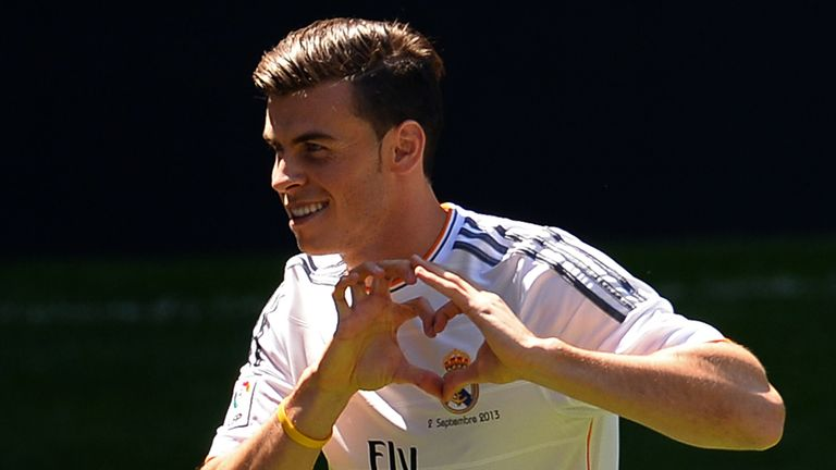 Bale: earning big bucks at the Bernabeu