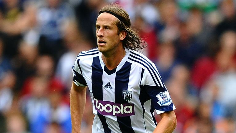 Jonas Olsson: Happy at West Brom