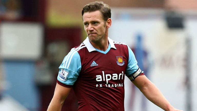 Kevin Nolan: Believes that West Ham players are often overlooked by England