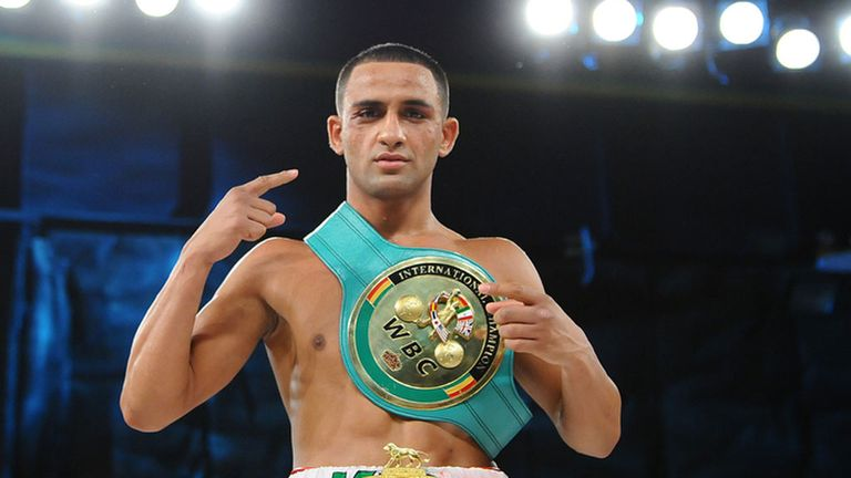 Kid Galahad: Looking to add another belt to his collection next month (Pic: leighdawneyphotography.com)