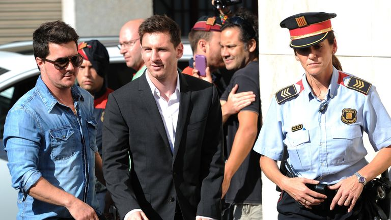 Lionel Messi: Barcelona star faces court hearing over tax evasion allegation