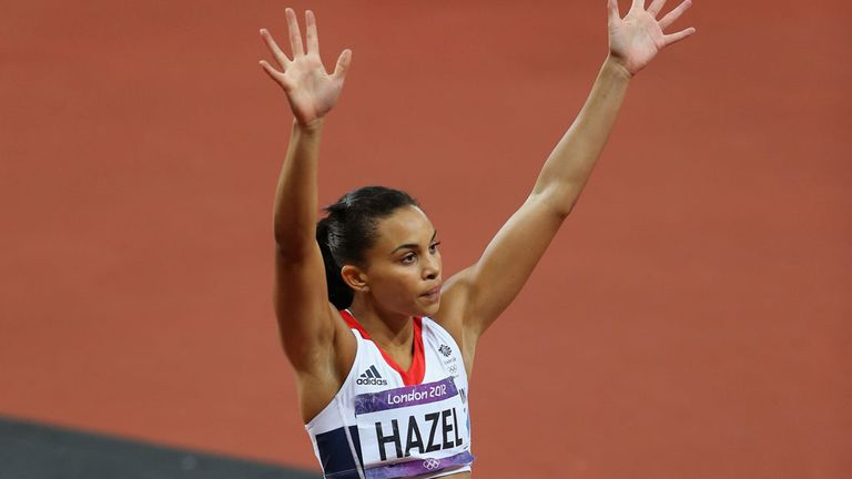 Louise Hazel: Took gold at the Commonwealth Games in Delhi