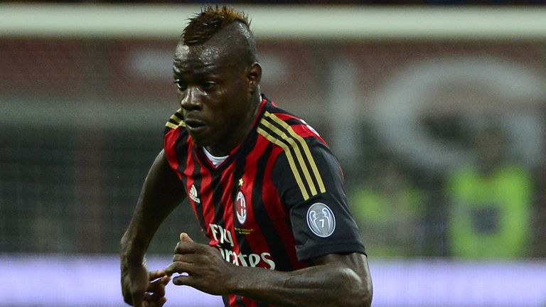 Mario Balotelli: Has been linked with moves away from Milan