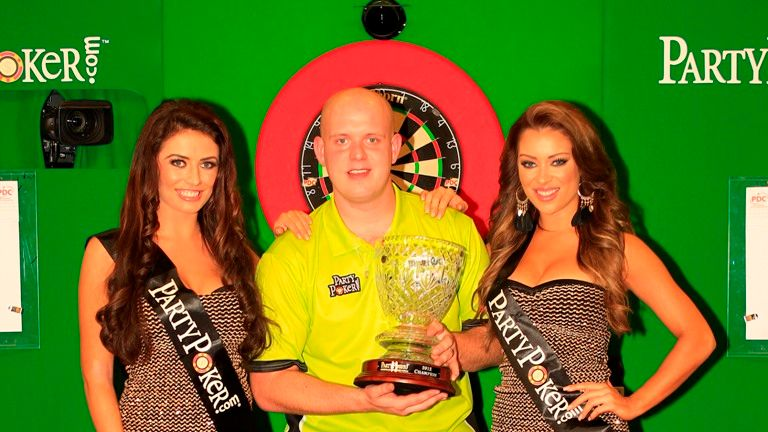Van Gerwen won the World Grand Prix in Dublin four years ago
