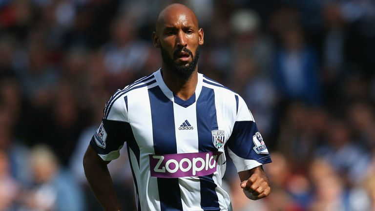 Nicolas Anelka: Backed by West Brom boss Steve Clarke