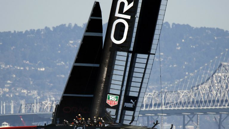 Oracle Team USA powering towards epic comeback
