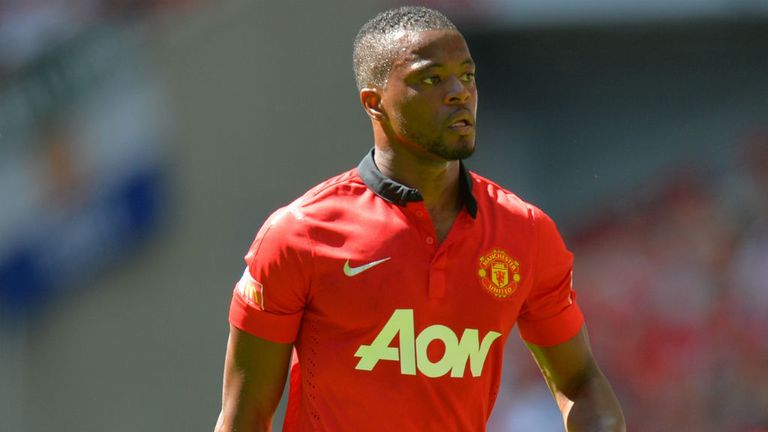 Patrice Evra: Manchester United defender is targeting Capital One success