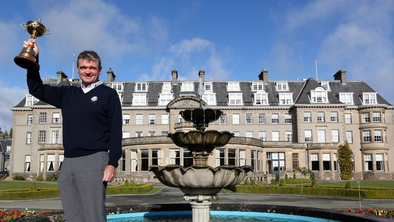 Paul Lawrie: Will hope he is still holding the Ryder Cup come September 2014