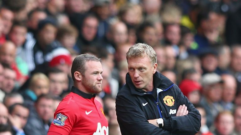 Wayne Rooney and David Moyes: Working together well at United