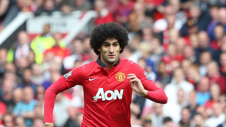 Marouane Fellaini: No regrets over Manchester United switch