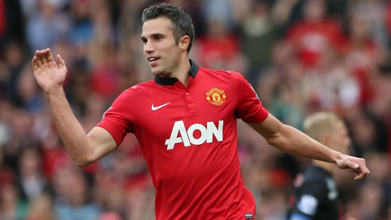 Robin van Persie: Ruled out of Manchester derby with a groin strain