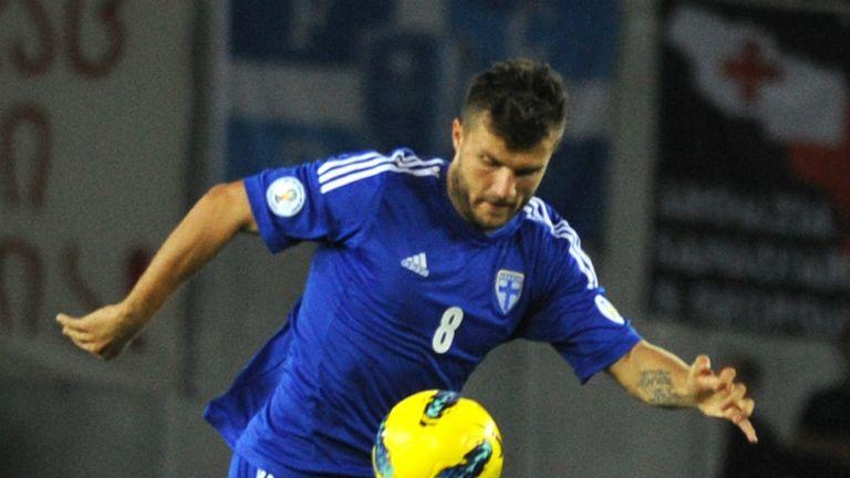 Roman Eremenko: On target for Finland against Georgia