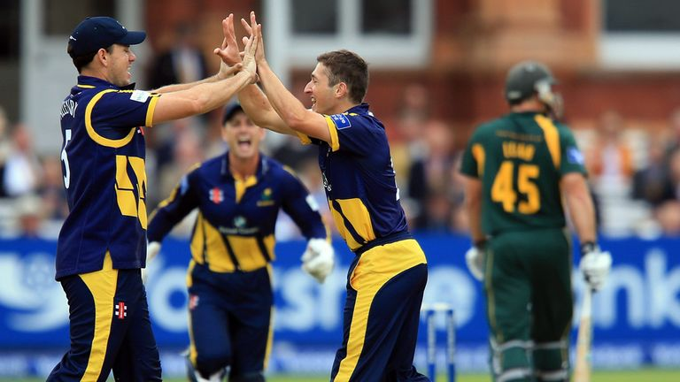 Glamorgan reached the CB40 final last season