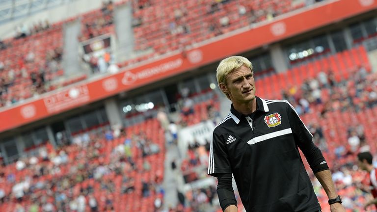 Sami Hyypia: Bayer Leverkusen coach takes on Manchester United in the Champions League