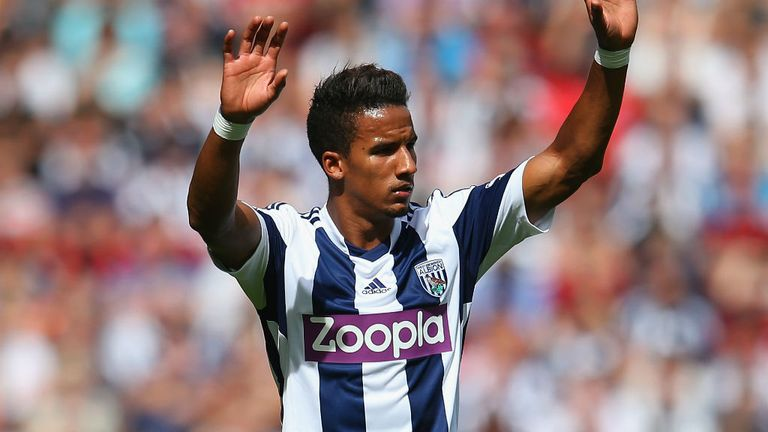 Scott Sinclair: Left out by West Brom