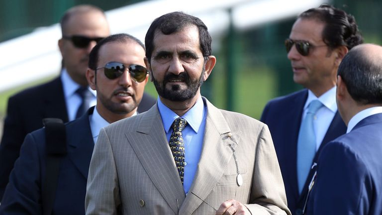 Sheikh Mohammed: Exonerated from any direct involvement
