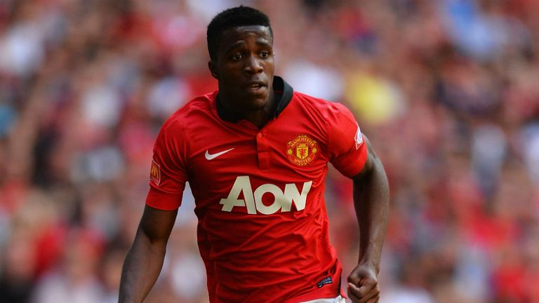 Wilfried Zaha: Has made just two appearances for Manchester United