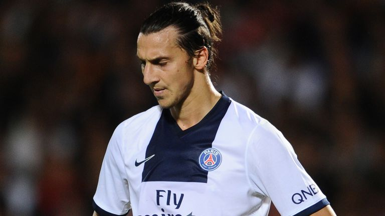 Zlatan Ibrahimovic: Admits his agent spoke to clubs in the summer