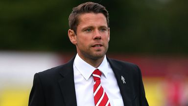 James Beattie: On the four-man shortlist for the Sky Bet League Two Manager of the Month award