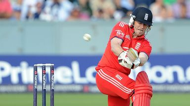 Eoin Morgan: Century for England captain at Malahide