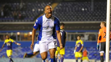 Matt Green: Birmingham striker out for the rest of the season