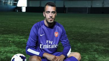 Emiliano Viviano: Hoping not to stay on bench all season with Arsenal