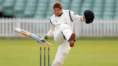 Liam Dawson: Hampshire all-rounder sidelined by groin strain