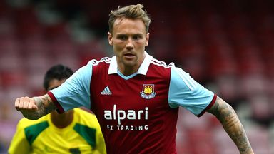 Matt Taylor: West Ham midfielder staying positive despite Everton setback