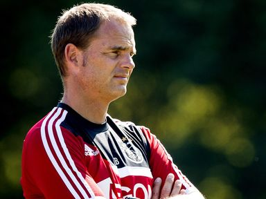 Frank de Boer: Looking to keep the pressure on Vitesse