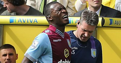 Christian Benteke: Could return for Spurs clash