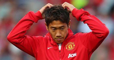 Shinja Kagawa: Waiting for a chance under David Moyes