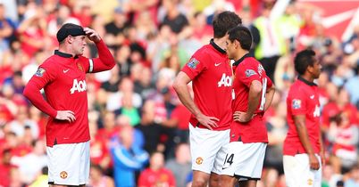 Manchester United: Beaten again at the weekend