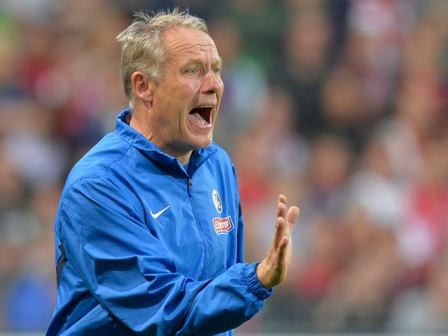 Christian Streich: Hoping to climb the table