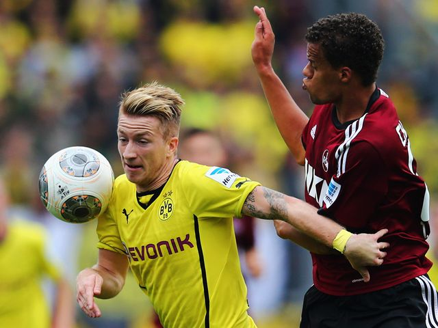 Marco Reus in action for Dortmund