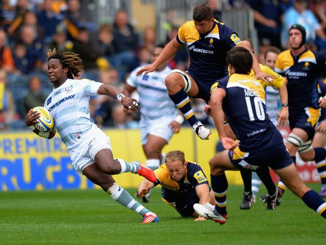 Marland Yarde scored a brace of tries