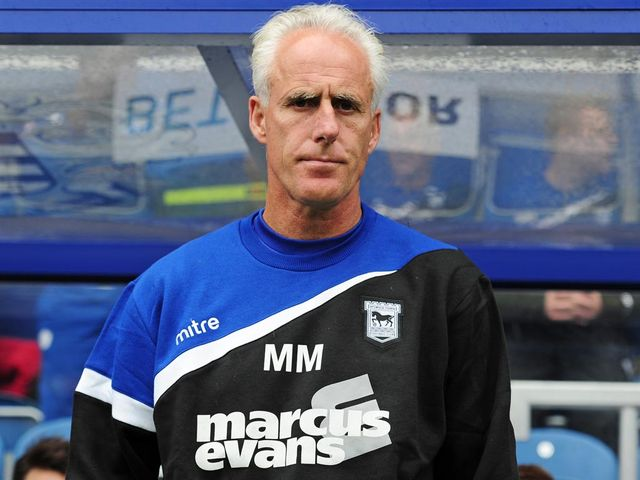 Mick McCarthy: Watched his side earn a 'terrific point'