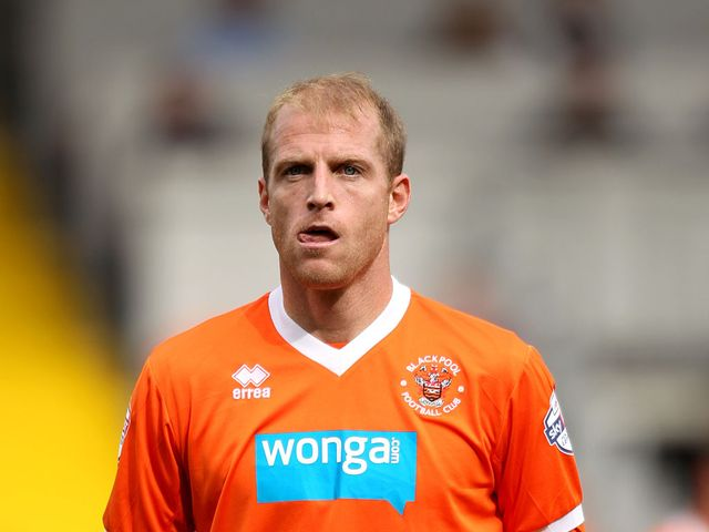 Neal Bishop: Scored for Blackpool