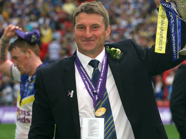 Tony Smith: Warrington boss aiming to go one better than last year