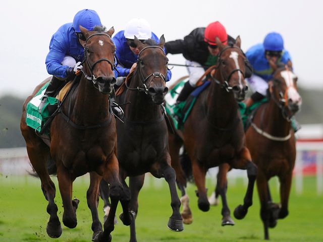 Ihtimaal (left): Much too good for her May Hill rivals