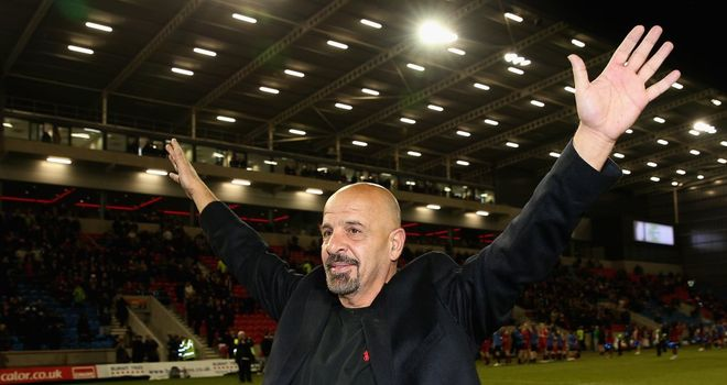 Salford owner Marwan Koukash is aiming high ahead of the 2014 season
