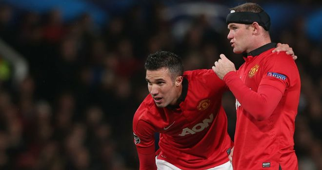 Robin van Persie: Expects partnership with Wayne Rooney to deliver plenty of goals