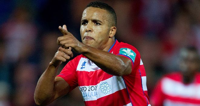 Youssef El-Arabi: Two goals for Granada