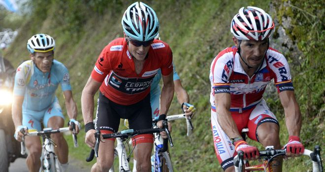 Chris Horner had notified drugs testers about his change of hotel