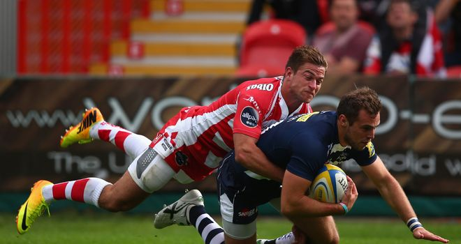 Andy Forsyth scores Sale Sharks' second try