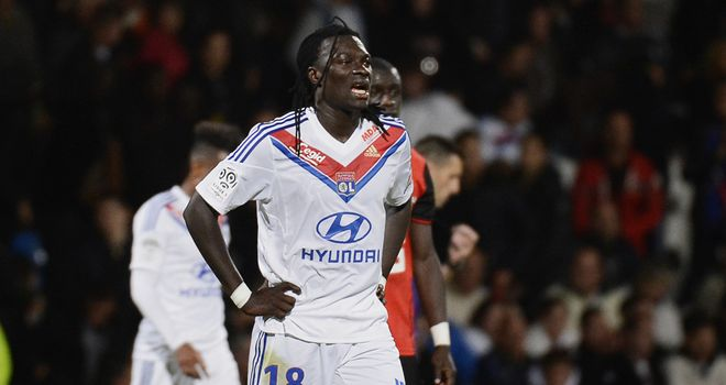No joy in front of goal for Gomis