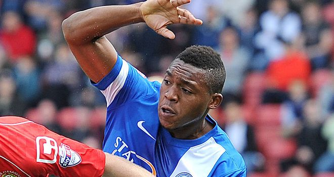 Britt Assombalonga: Bagged Peterborough's second