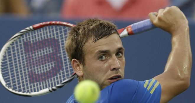 Dan Evans: Went down to German top seed Tommy Haas in last four