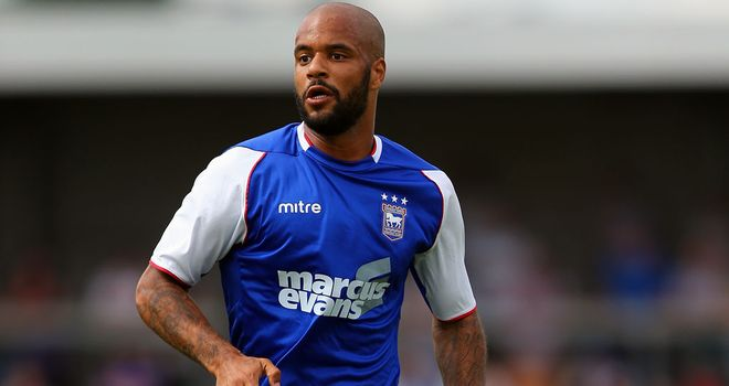 David McGoldrick: Scored twice as Ipswich beat Middlesbrough